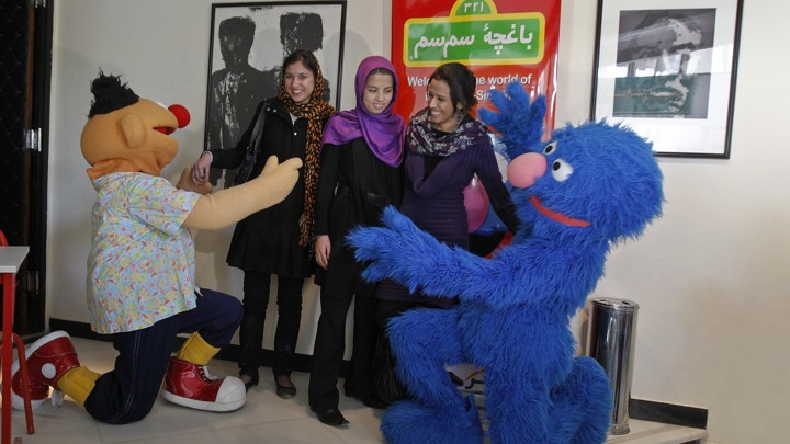 Sesame Street Fights Gender Inequality Worldwide - Sesame Workshop, the nonprofit organization that produces Sesame Street, has been bringing solace to immigrant children for many years, and has created versions of the show in Bangladesh, South Africa, India, and Afghanistan. In Afghanistan, four million kids under the age of five are now watching a version of Sesame Street whose main character is a six-year-old schoolgirl. Sesame Workshop's research reveals that she is a favorite character of both boys and girls, and that many Afghan fathers have changed their minds about allowing their daughters to attend school after watching it.