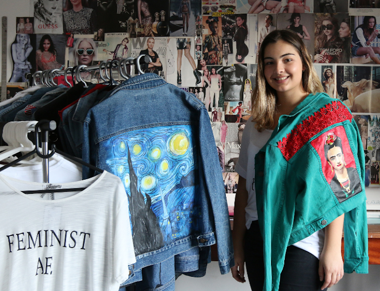 Feminist Teen Creates Cheeky Chic Boutique  - Feminist ideals and a passion for fashion led East London teen Jessica Sanders to start up her Cheeky Chic Boutique, a pop-up shop offering feminist printed t-shirts and custom hand-painted and decorated denim jackets for women. Born out of Jessica's creativity, the prints, patterns, and designs for both the t-shirts and jackets are all about girl power, showcasing a cheeky, quirky and unique style.