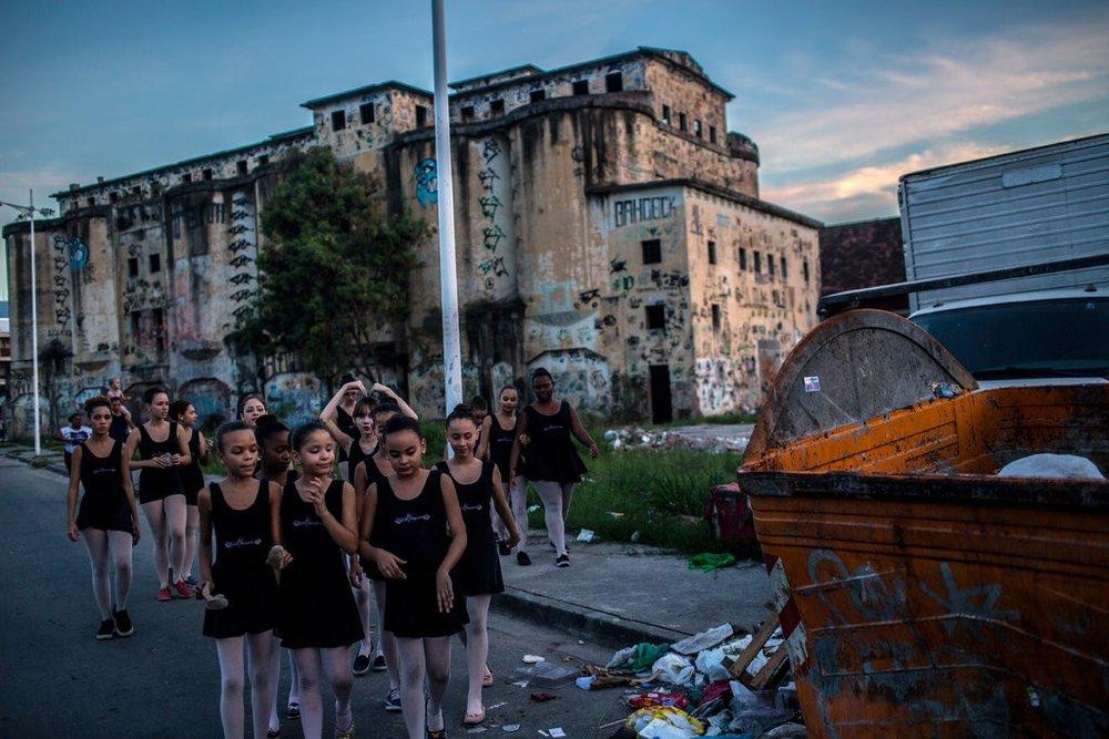Rio de Janeiro Neighborhood, Ballet as 'Anesthetic' and Escape.jpg