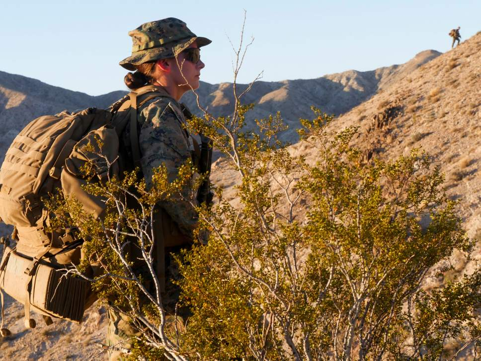 US marines make 24-year-old the first woman ever to lead an infantry platoon .jpg
