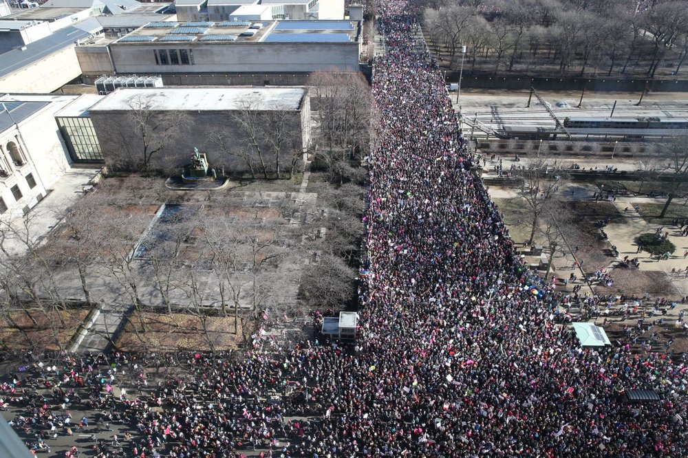 TOPICAL Women's March Chicago plans October 'March to the Polls'.jpg