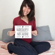 Project Sleep has a campaign - Narcolepsy: Not Alone - to raise awareness about this neurological disease, and to create visibility, reminding everyone that we are never alone.