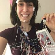 Taken during Michelle's sleep study in February 2017 that led to her Narcolepsy diagnosis.