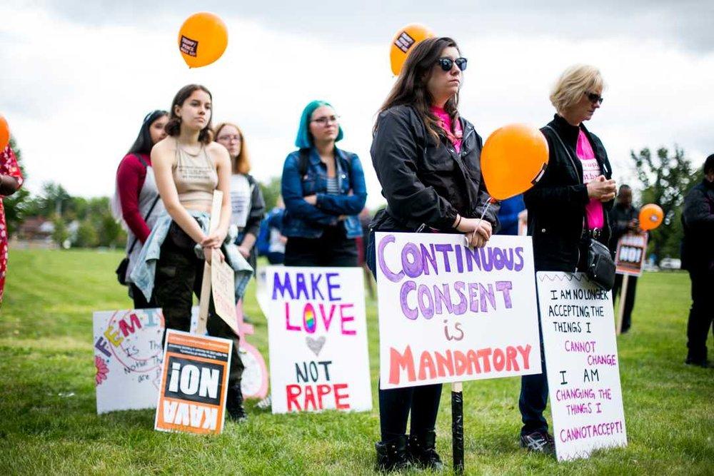 Detroit Women Gather For 'Slutwalk' March