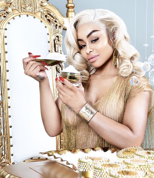 Blac Chyna Promotes Skin Lightening Cream