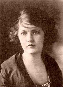Zelda Fitzgerald.