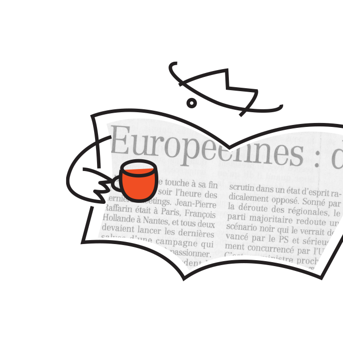 CAFÉ DE LA PRESSE: LOGO