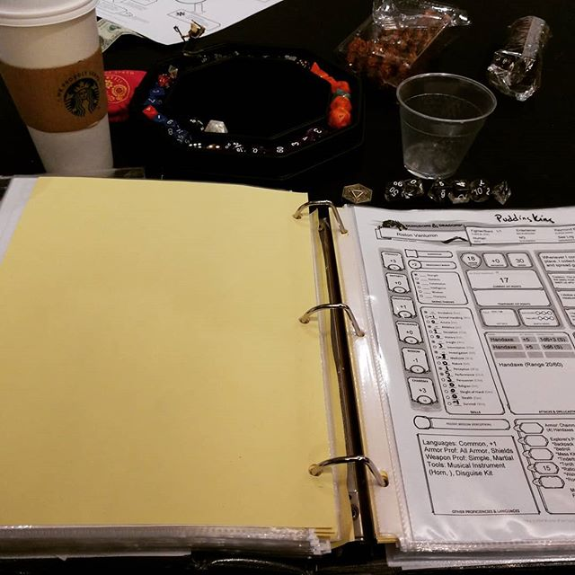Dungeons & Dragons 5e. Playing Adventures League at WhimsyCon 2019. #rpgs #roleplayinggames #dungeonsanddragons #dnd5e #colorado