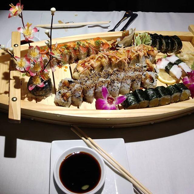 Sushi Boat! #Denver #eastmoonasianbistro