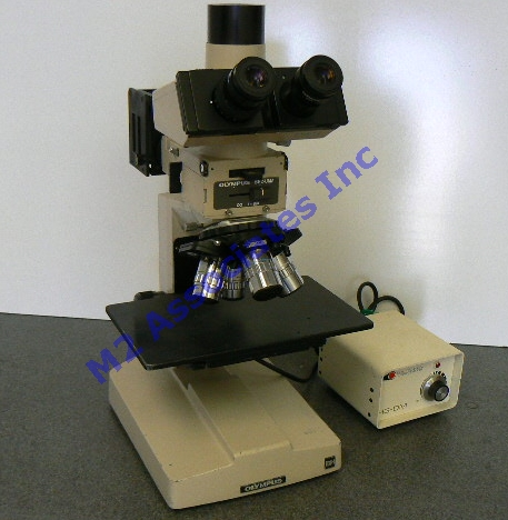 Olympus BHM 4 Inch Microscope with Nomarksi