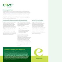 Customer Loyalty White Paper ( Download PDF )