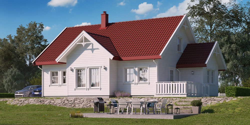 NESGÅRD  BRA 141 m² | Soverom 3