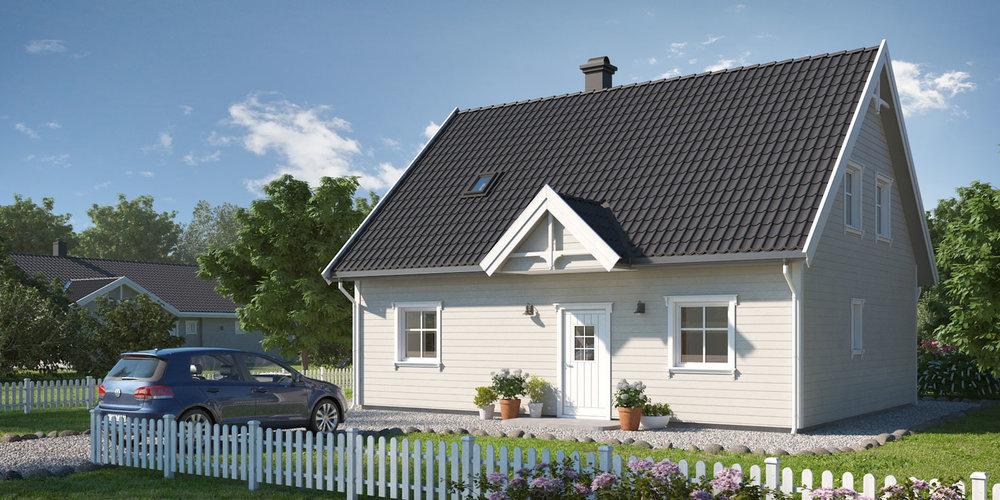 NORDGÅRD  BRA 130 m²   Soverom 3