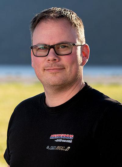 Knut Perry Græsdal  Byggeleder  knut@fylling-bjorge.no