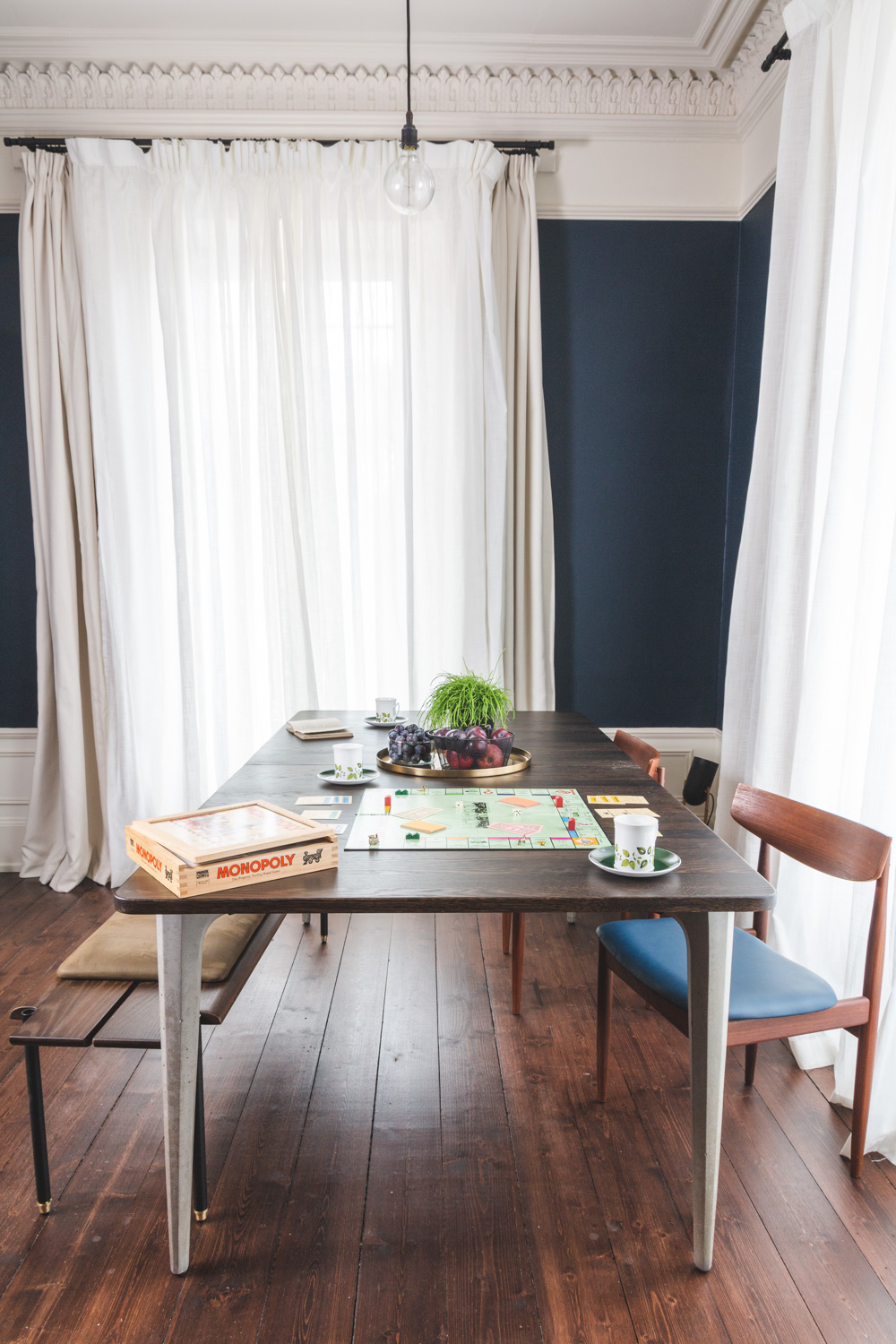 Breakfast, ping pong AND boardgames. Our Drawing Room is super versatile.