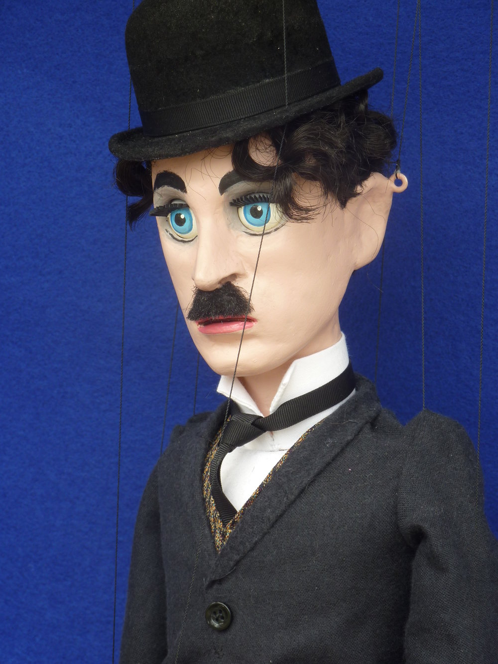 Pomeroy Puppets #19 Charlie Chaplin.JPG