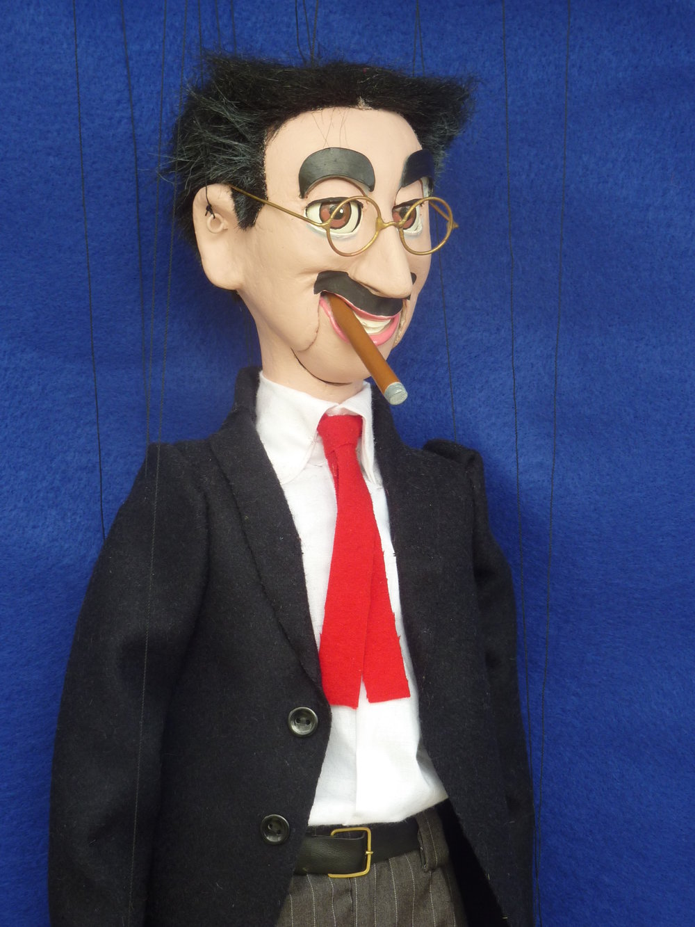 Pomeroy Puppets #25 Groucho Marx.JPG