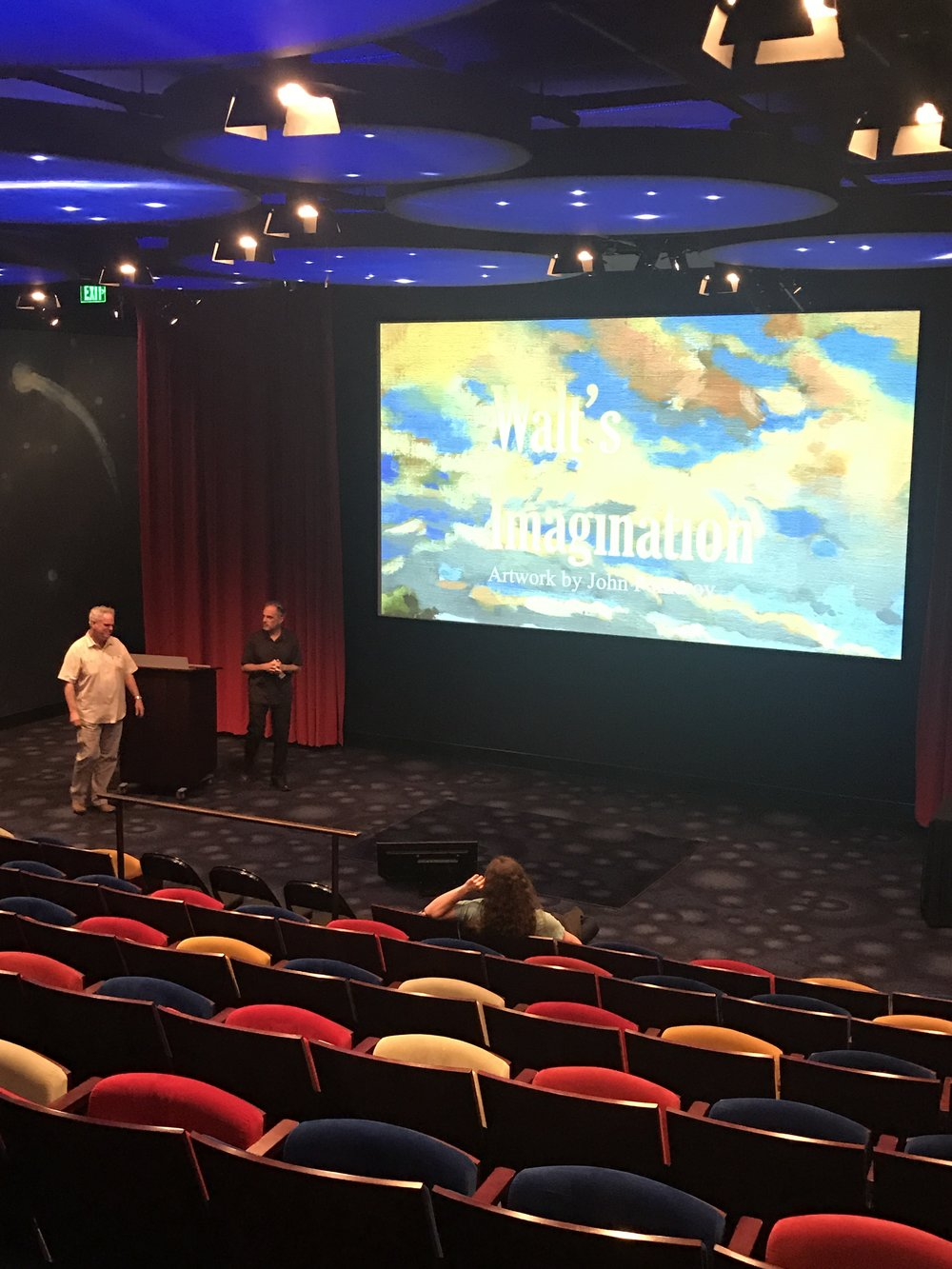 John's presentation at the Walt Disney Family Museum.