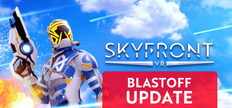 Skyfront VR:   Skyfront is a ZERO-GRAVITY shooter where you fly around battling against other players. You have cool and explosive weapons to blast at your enemies and awesome Special Abilities to mess up your opponent's game. Jump in the game and you will be flying and winning in no time