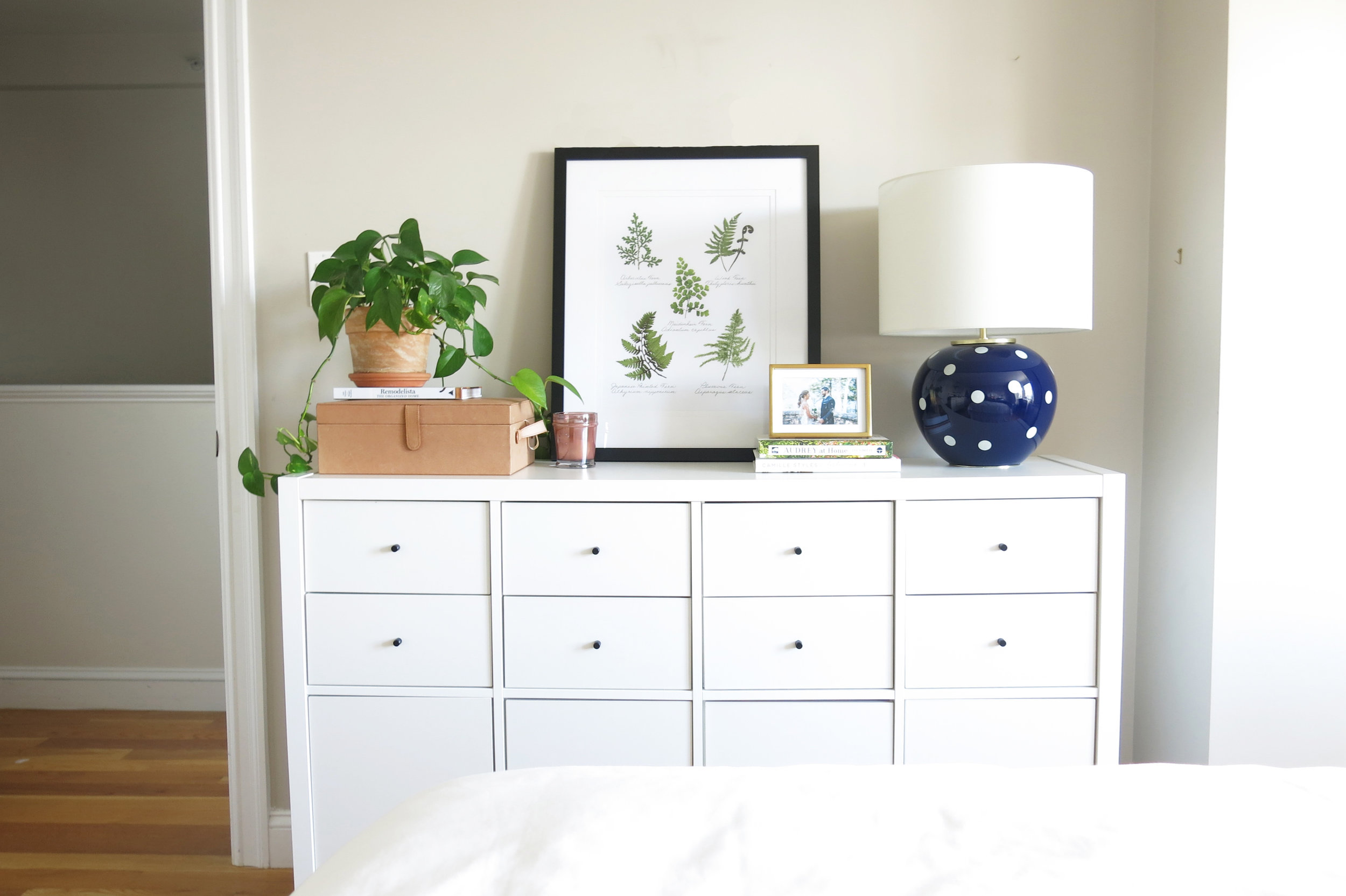 How To Style Your Dresser Tutorial House Of Paige