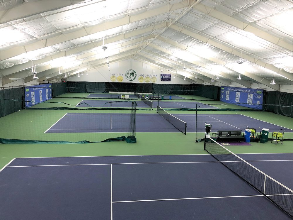 Check out the dramatic difference our LED lighting made at the T Bar M Racquet Club in Dallas, TX. The Tennis Championships of Dallas, a professional tournament, is set to begin and be broadcast on television next week, so we needed to be swift and efficient in our work to be certain that the old lights were removed, our new lights were installed, and that the courts were ready for players and spectators to arrive for the matches. The facility is broken up into multiple buildings, with varying electrical needs for each site, and we successfully worked through all project needs to get the project completed. We are happy to report that the project finished on time as planned and with no major disruption to any of the ongoing planning for this exciting tournament. The light levels increased as expected and the quality of light has been drastically improved. We are thrilled to partner with this fantastic club. To learn more about the upcoming tournament you can visit the website  here .