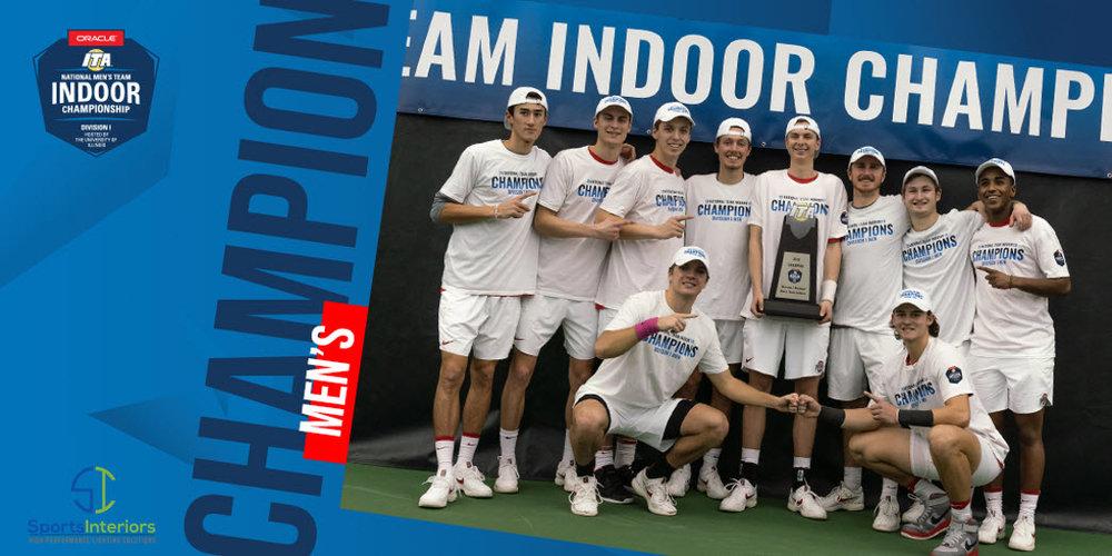 The 2019 ITA National Men's Team Indoor Champions - The Ohio State University