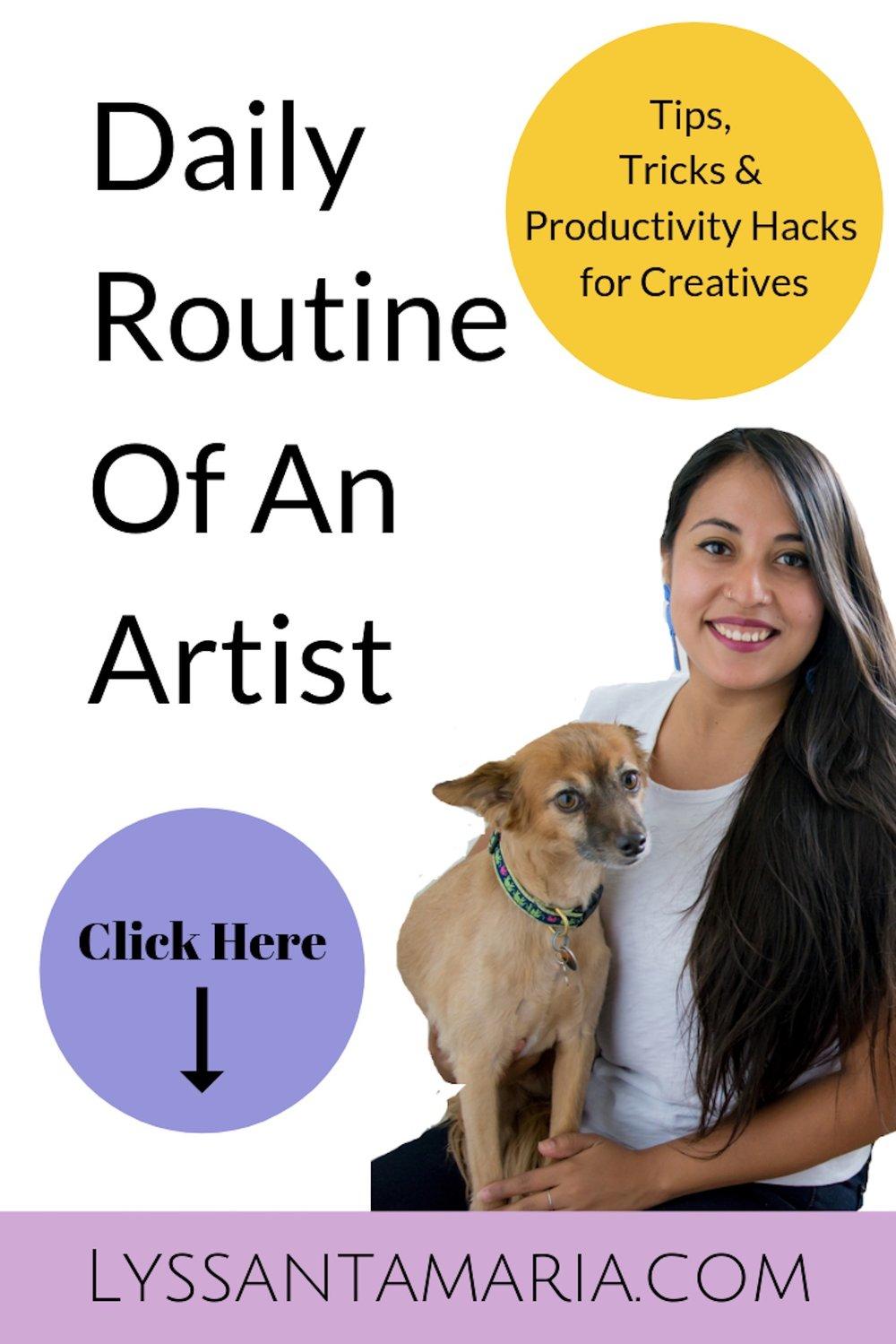 Daily Routine of Beadwork Artist - Tips, Tricks and Productivity Hacks - PINTEREST.jpg