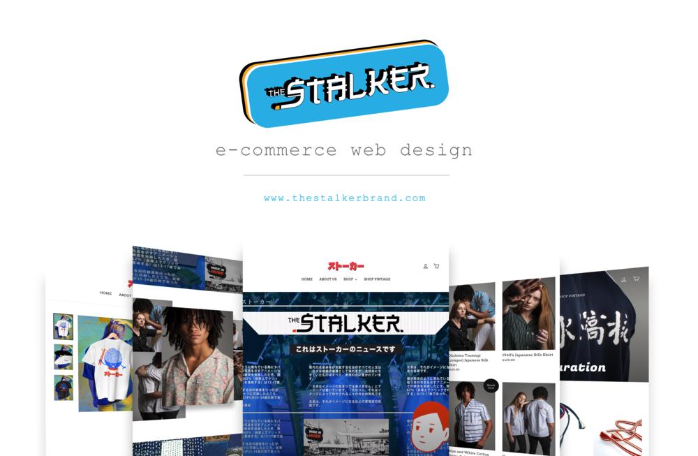 Web Design |   thestalkerbrand.com