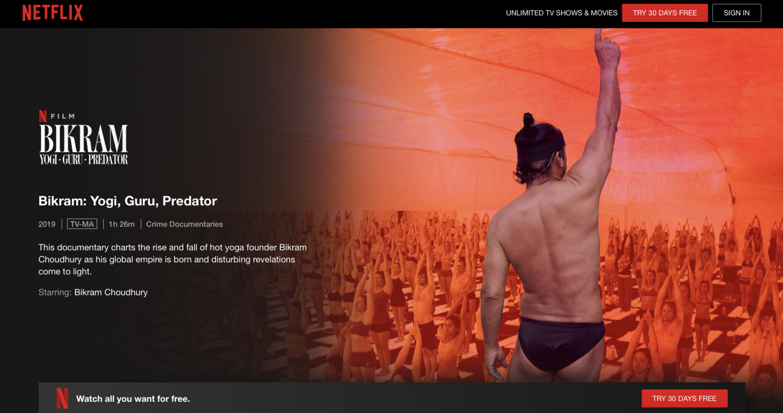I Love Bikram Yoga But The Founder S A Rapist Allegedly L A T O Y A H E N R Y