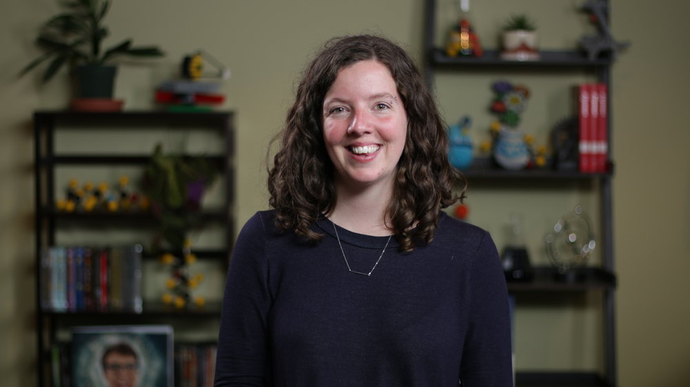 "Caitlin Hofmeister Senior Producer / Host    Caitlin loves learning and making things. She produces all things SciShow, and hosts 1/3 of SciShow Space. One of her greatest accomplishments is receiving the ""Most Likely to Say 'I Can Do That!'"" Award from Hank and Michael."