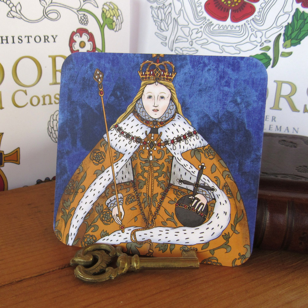 The Tudors Coaster Set