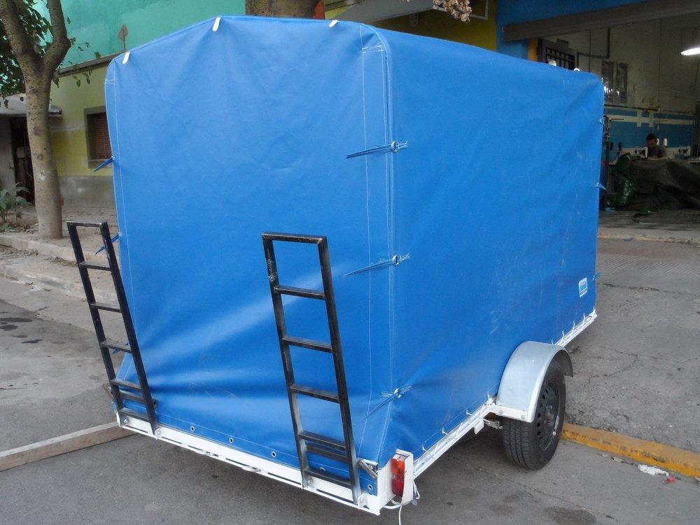 Lonas para trailers con estructura