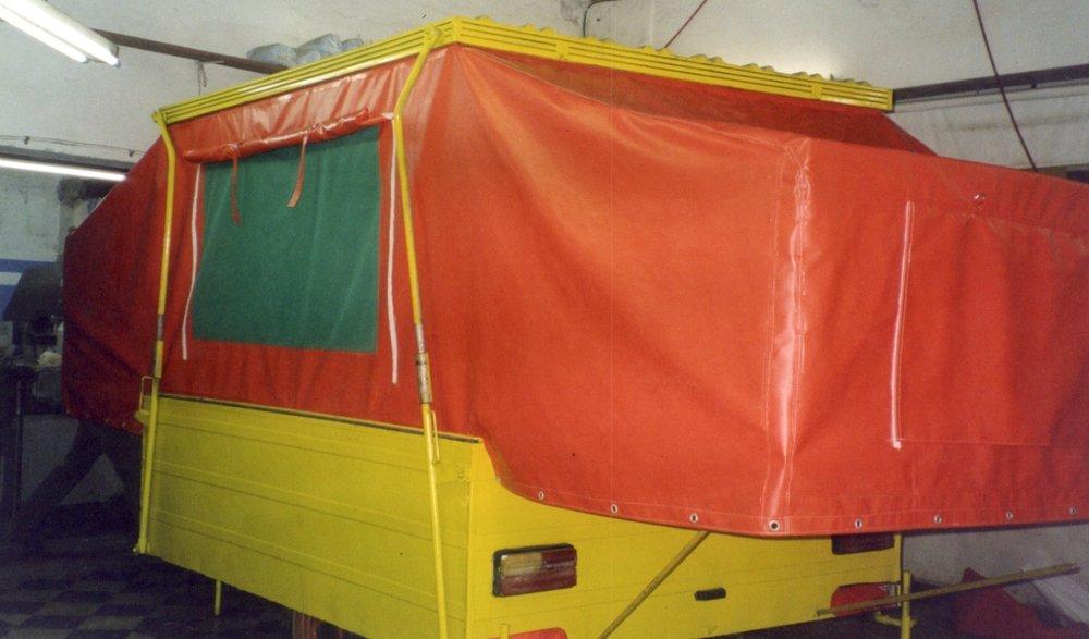 Lonas a medida - Nos adaptamos a su trailer o casilla.