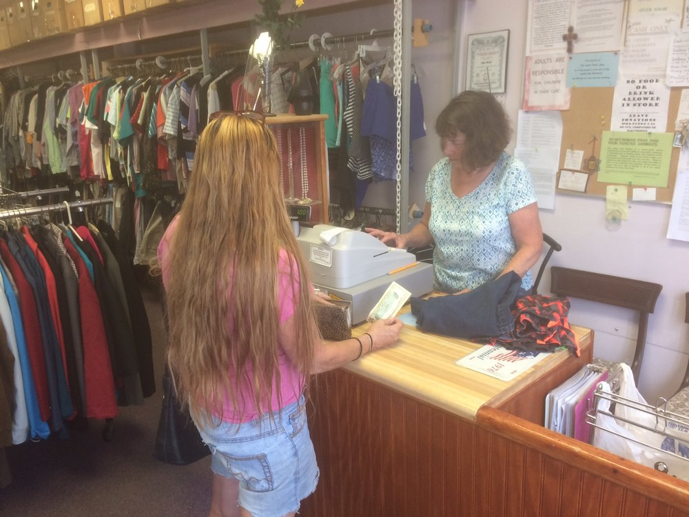 Clergy and parishioners volunteer regularly at The Well, a high-quality thrift store in Saugerties run by the Saugerties Area Council of Churches. Profits benefit local community members in need.