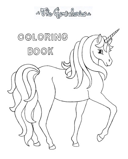 The Gem Series Book #5 Coloring Book