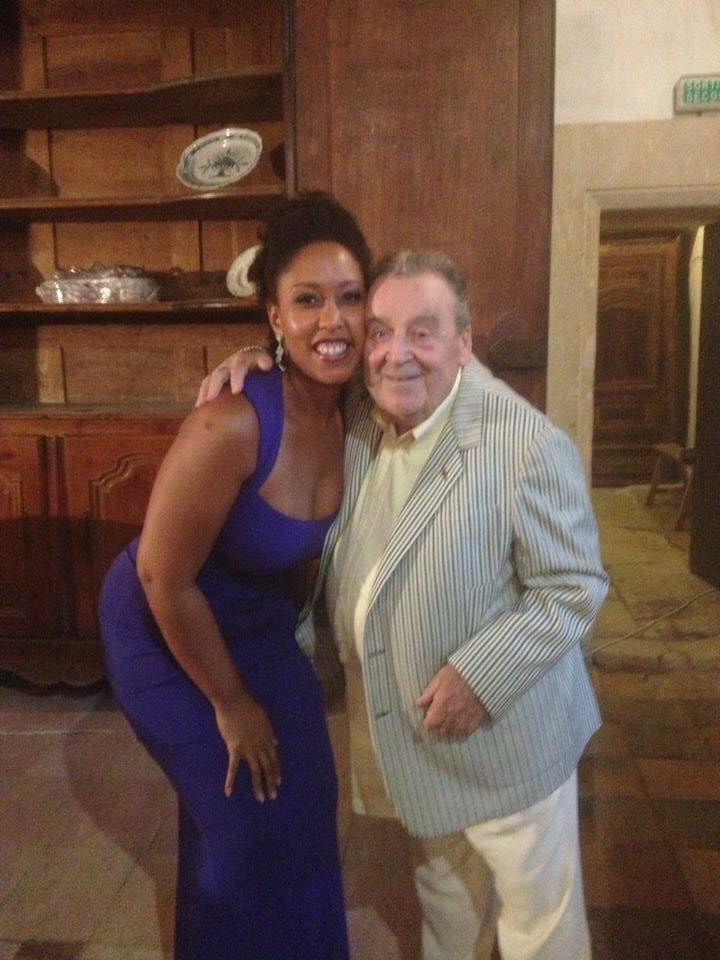 Briana and the late Michel Sénéchal, renowned tenor and former Master Teacher of Classic Lyric Arts France.