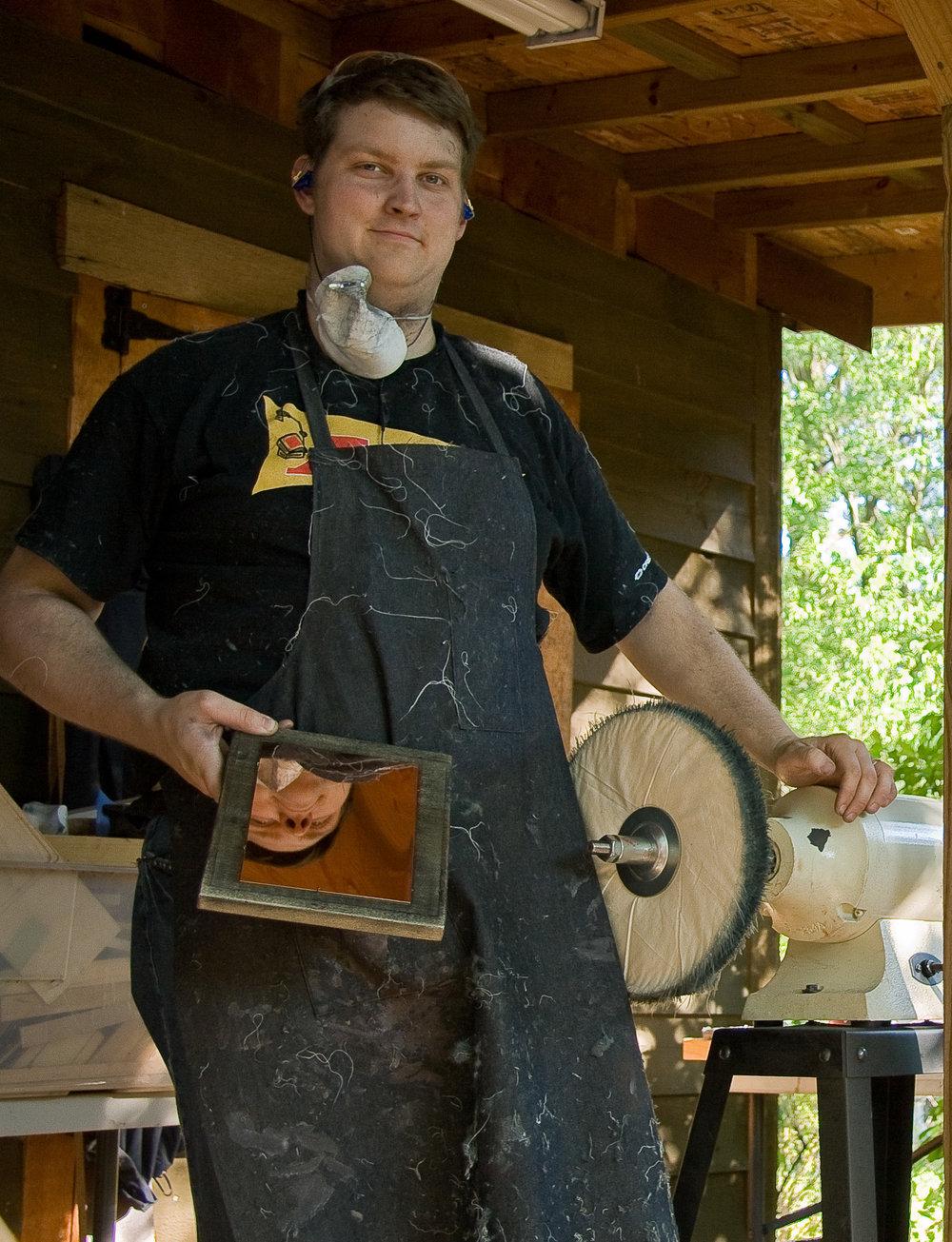 Making Daguerreotype Plates, 2008