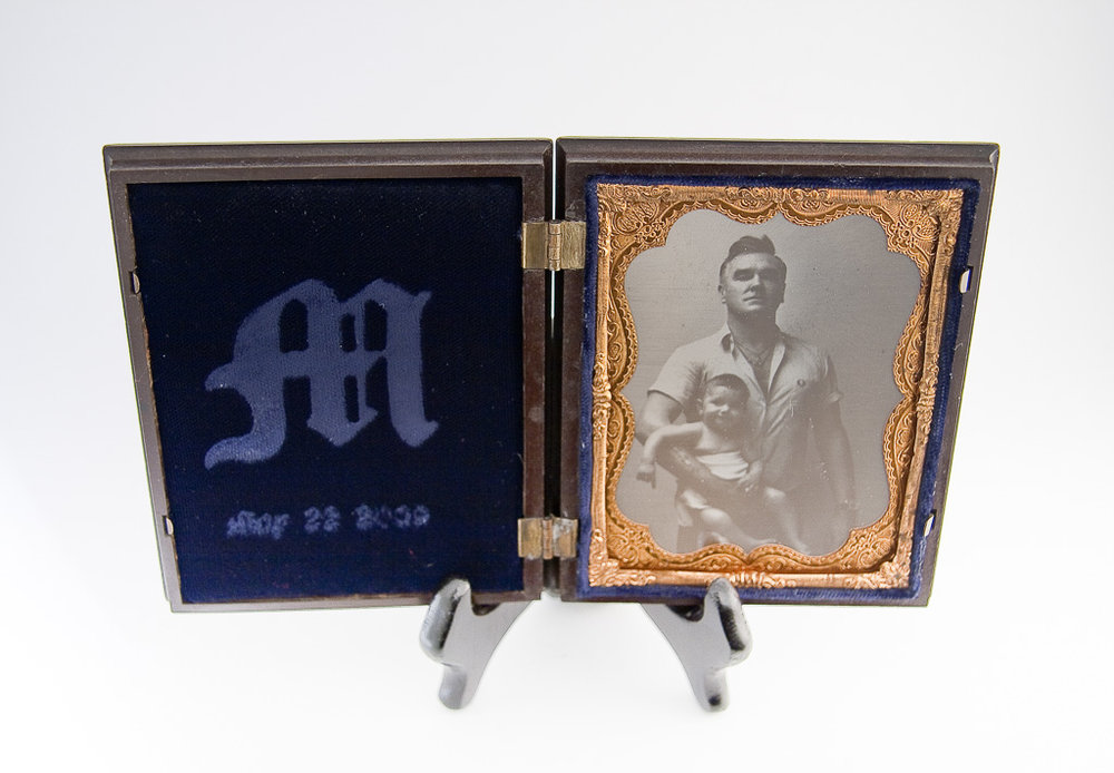 A Daguerreotype Made From a Digital Negative