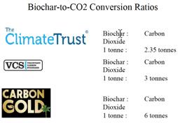 Biochar to CO2