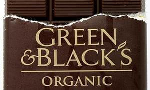 green & black's -