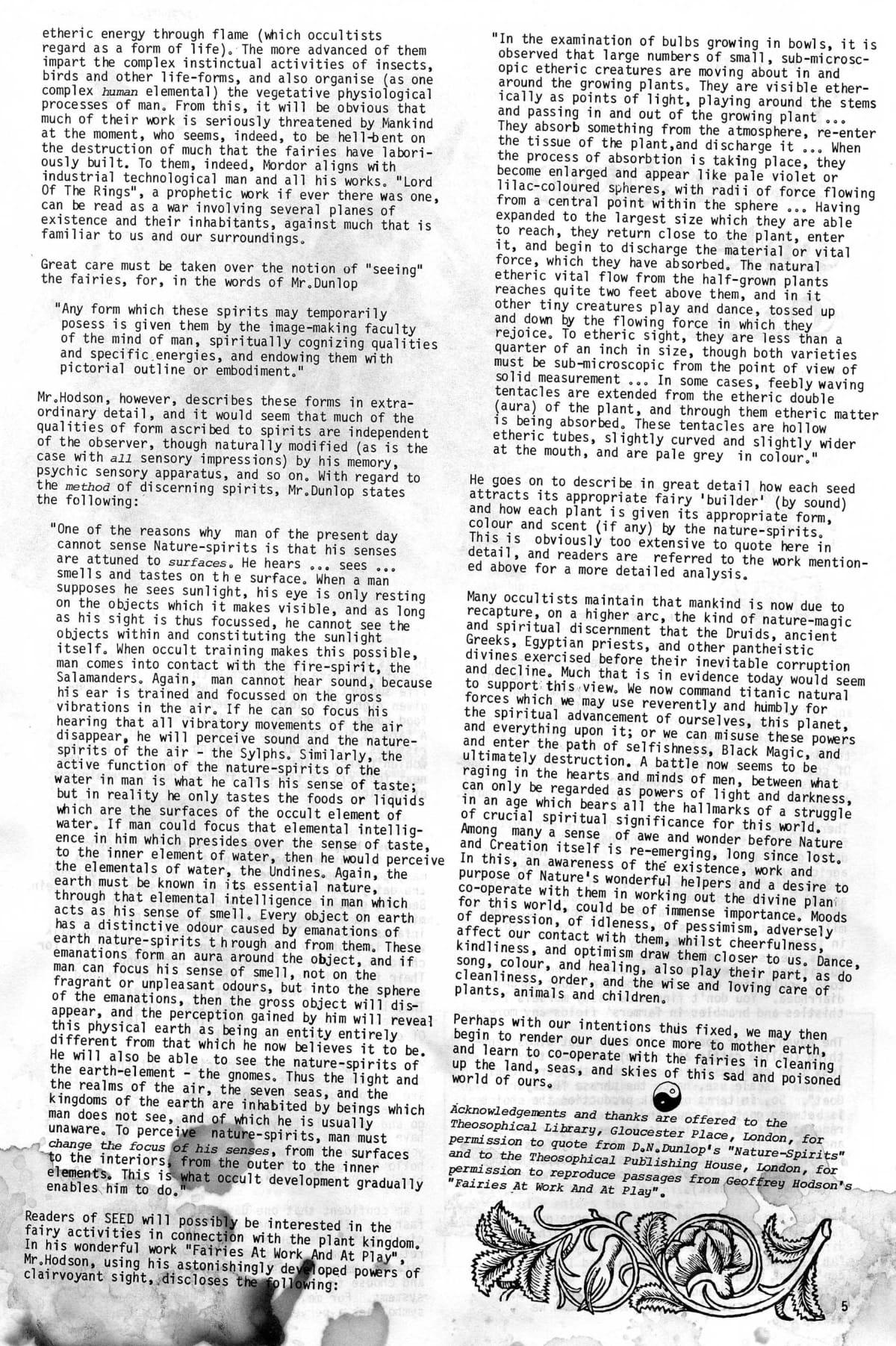 Seed Vol 3 No 2 Feb 1974 p 5 — Craig Sams