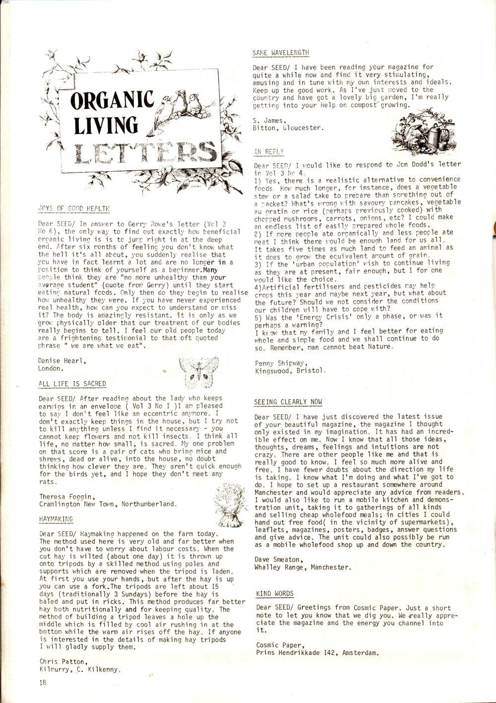 1Seed Vol.3 No.7 July 1974 p.18 — Craig Sams