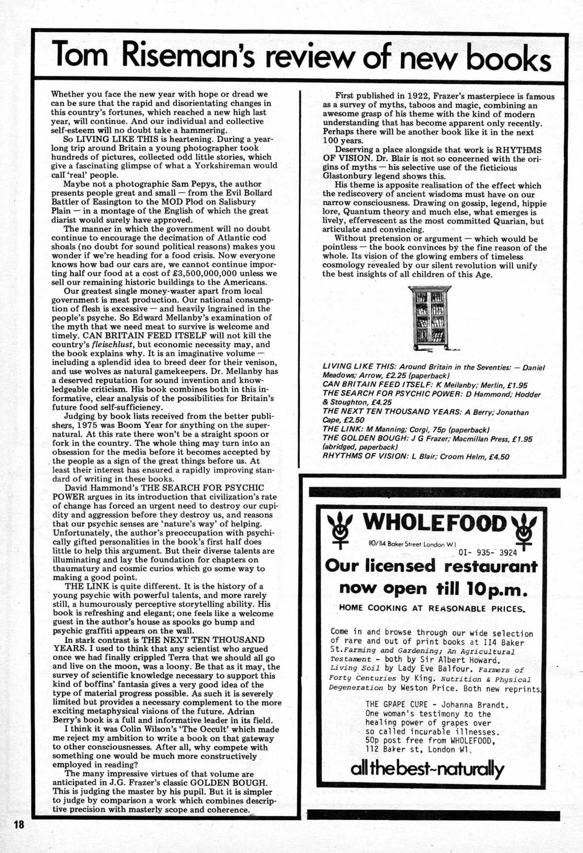 Seed Vol 5 No 1 Jan 1976 p 18 — Craig Sams