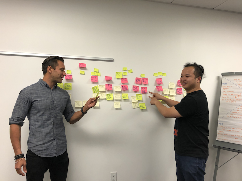 Challenge to recruiters! Take a shot every time you see sticky notes in a UX Design portfolio 🥃
