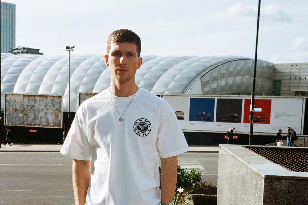 Horizon Bay Emblem Tees -  our best sellers ever. No word of a lie, these pushed us through a really difficult first year in the industry. First worn by Hot Since 82, then Skream, we sold a lot of these all over the UK and saw them at ALOT of raves and festivals. That was amazing, an amazing release and twinpack idea that really was a UN:IK certified classic.