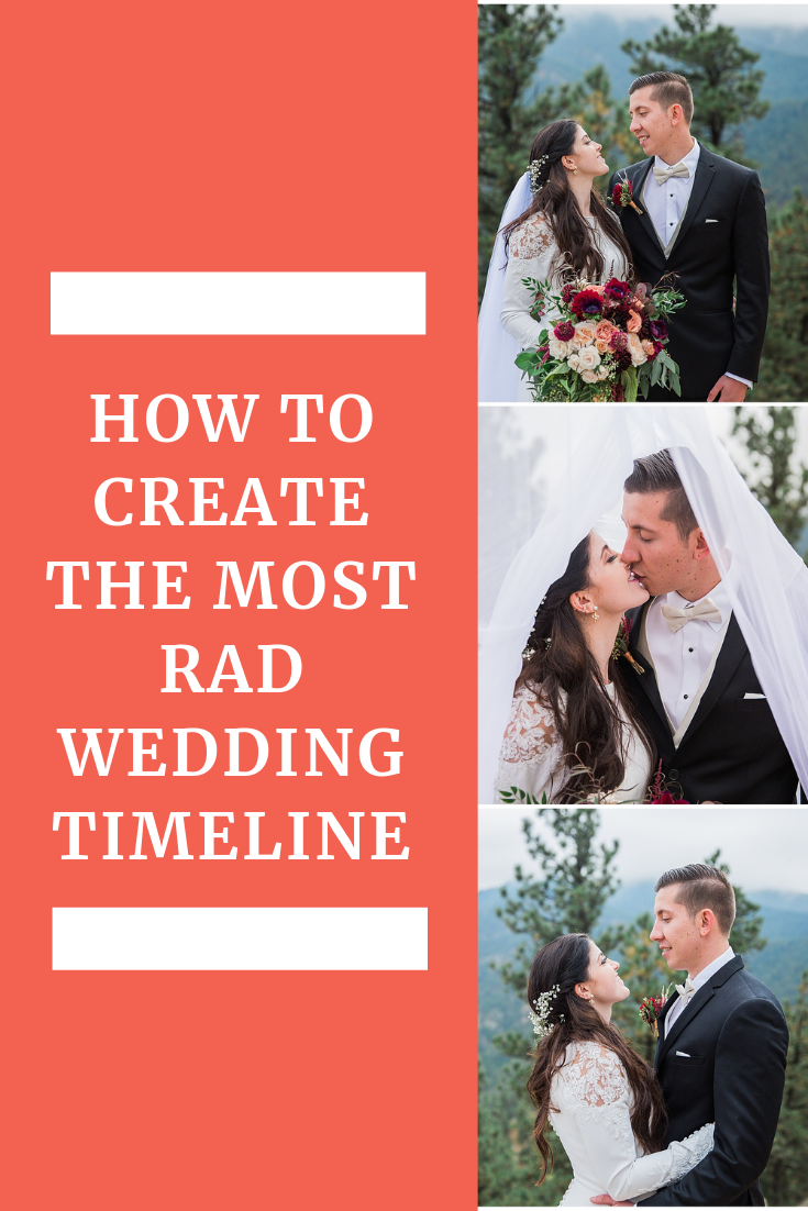 photographer wedding timeline