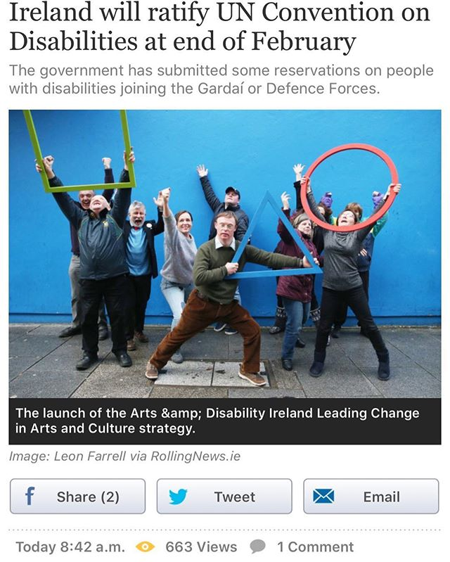 This is long overdue but welcome news nonetheless! #disability #ability #rights #unconvention