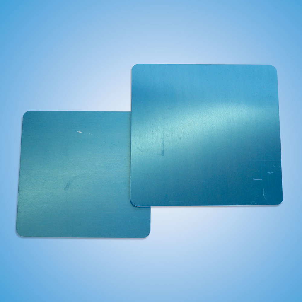 Chute Pack Plates   Aluminum replacement plates for chute pack.  Small Plate: #40567.5X7.5SQ  Large Plate: #4056875SQUARE