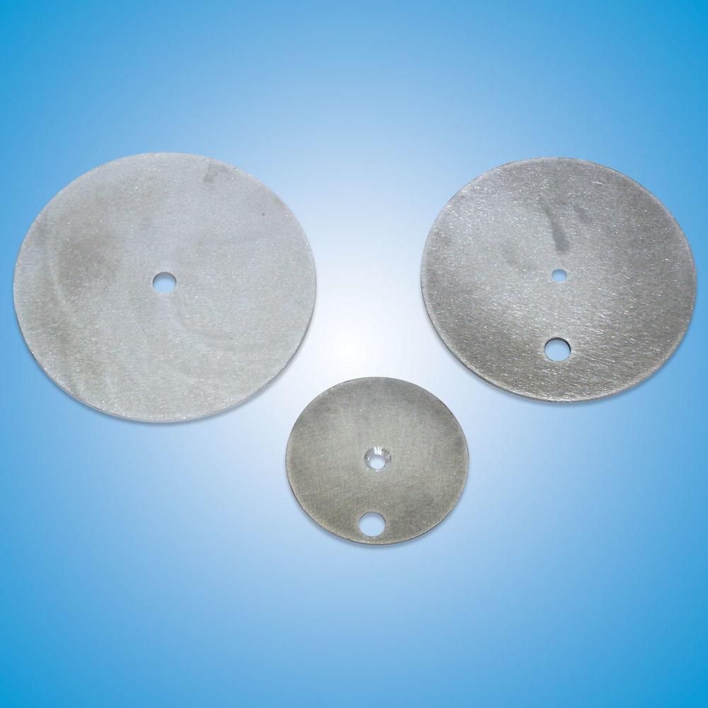 Aluminum Launcher Discs   Air Launcher Disc (small and large): #6ROUND1HOLE  Spring Launcher Replacement Disc (small 2-hole): #4035  Spring Launcher Replacement Disc (large 2-hole): #4055