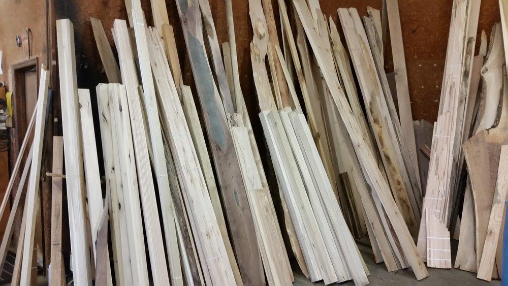 Great Selection of Hardwood